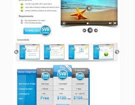 nº 5 pour Software Pricing and Feature Presentation Page with Graphics par dreamstudios0