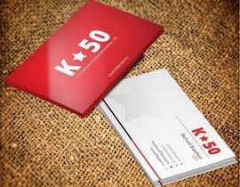 Nro 20 kilpailuun Business cards design for K50 (Разработка визитных карточек) käyttäjältä pankaj86