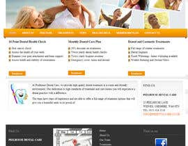 nº 15 pour New Website for Dental Practice par scvoyager