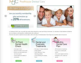 #16 para New Website for Dental Practice por gravitygraphics7