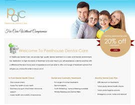 nº 6 pour New Website for Dental Practice par saimarehan