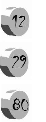 Penyertaan Peraduan #28 untuk Design a Logo for 12-29-80