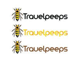 #107 para Design a Logo for TRAVELPEEPS por hanif7