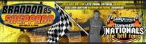 Graphic Design Inscrição do Concurso Nº41 para Design a Banner for Brandon Sheppard Racing