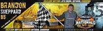 Graphic Design Inscrição do Concurso Nº42 para Design a Banner for Brandon Sheppard Racing