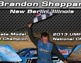 nº 11 pour Design a Banner for Brandon Sheppard Racing par GVDesigns