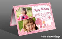 Entry # 75 for Design some Stationery for Childs Birthday Photo Card by