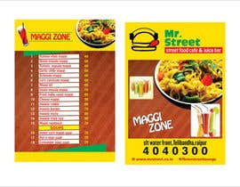 #43 for Design a Banner for MAGGI ZONE MENU by ajdezignz