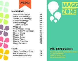 #41 for Design a Banner for MAGGI ZONE MENU af rivtezara