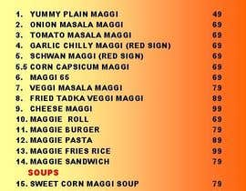 #19 for Design a Banner for MAGGI ZONE MENU by jasmyne4u
