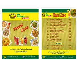 #46 for Design a Banner for MAGGI ZONE MENU af kiranayub22