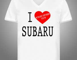 #6 para Subaru Owners Club T-Shirt Design por BLePister