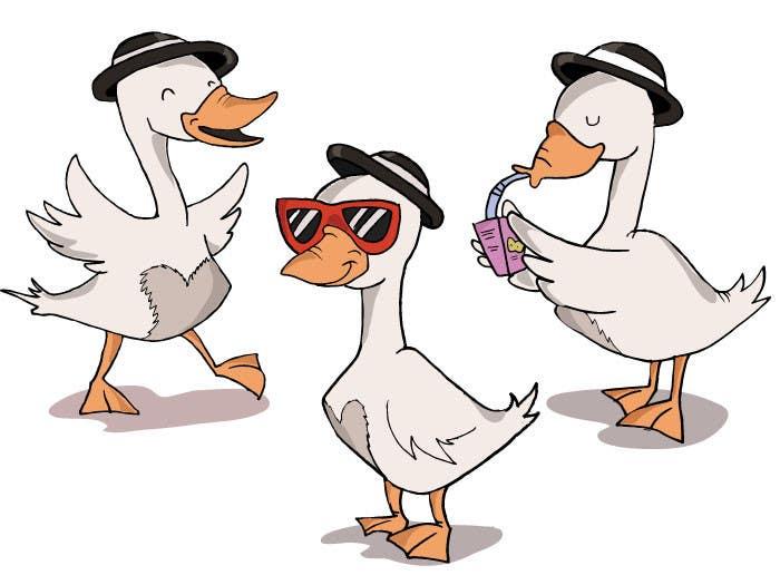 Penyertaan Peraduan #                                        18                                      untuk                                         Draw a goose in several attitudes
