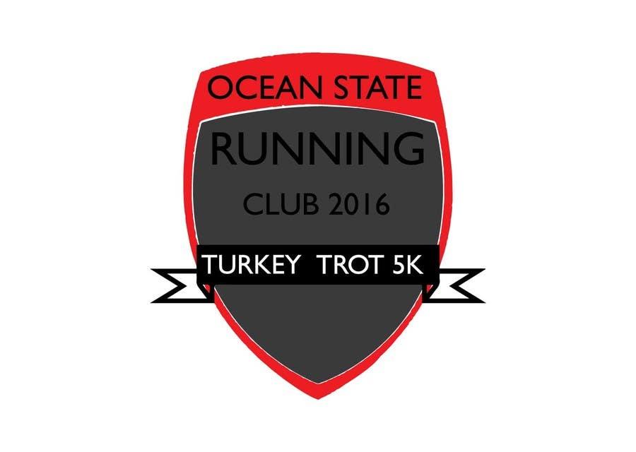 Contest Entry #3 for Ocean State Run Club Turkey Trot 5K  Logo