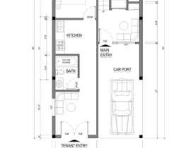 #45 for House Plan for a small space: Ground Floor + 2 floors by ABArchitect