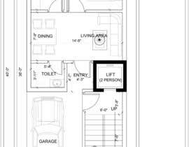 #29 for House Plan for a small space: Ground Floor + 2 floors by wrishitesh