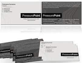 #207 cho Business Card Design for Pressurepoint bởi DYNAMICWINGS