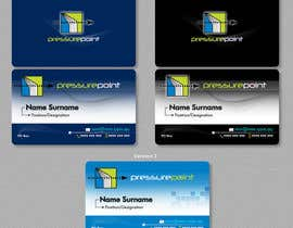 #108 for Business Card Design for Pressurepoint by davidotcom
