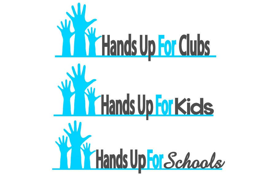 Proposition n°87 du concours Design a Logo for Hands Up for Clubs
