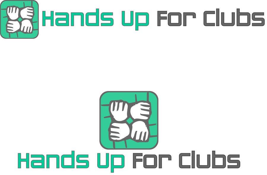 Inscrição nº 35 do Concurso para Design a Logo for Hands Up for Clubs