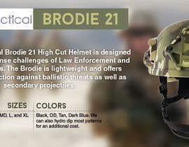 #31 para Helmet Banner Design de manjegraphics