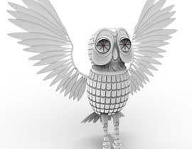 #10 para Robotic Bubo Ornithopter Design de miguel3d