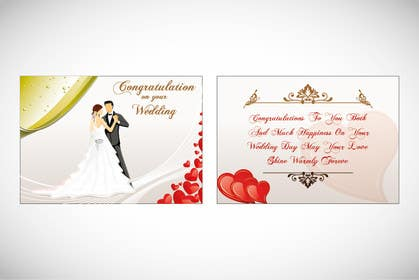 #2 for Design some Stationery for a Wedding Greeting Card by Arts360