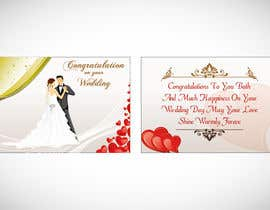 #3 untuk Design some Stationery for a Wedding Greeting Card oleh Arts360