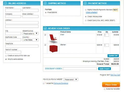 Participación en el concurso Nro.                                        3                                      para                                         Design a Checkout Page (Only design, no coding)