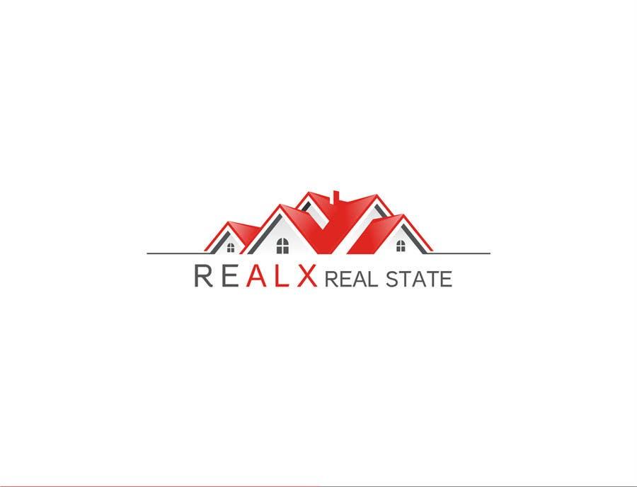 Participación en el concurso Nro.                                        9                                      para                                         REALX - Real estate brand Logo for new investors group