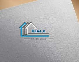 #32 untuk REALX - Real estate brand Logo for new investors group oleh husainmill
