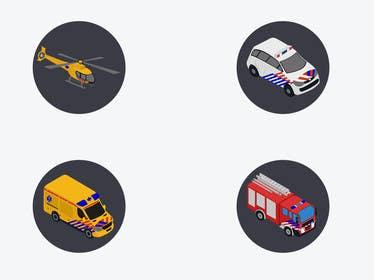 MFaizDesigner tarafından 5 Isometric icons in SVG format için no 8