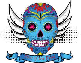 #31 para Design a T-Shirt for day of the dead por haftech