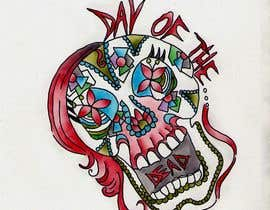 #22 para Design a T-Shirt for day of the dead por umby
