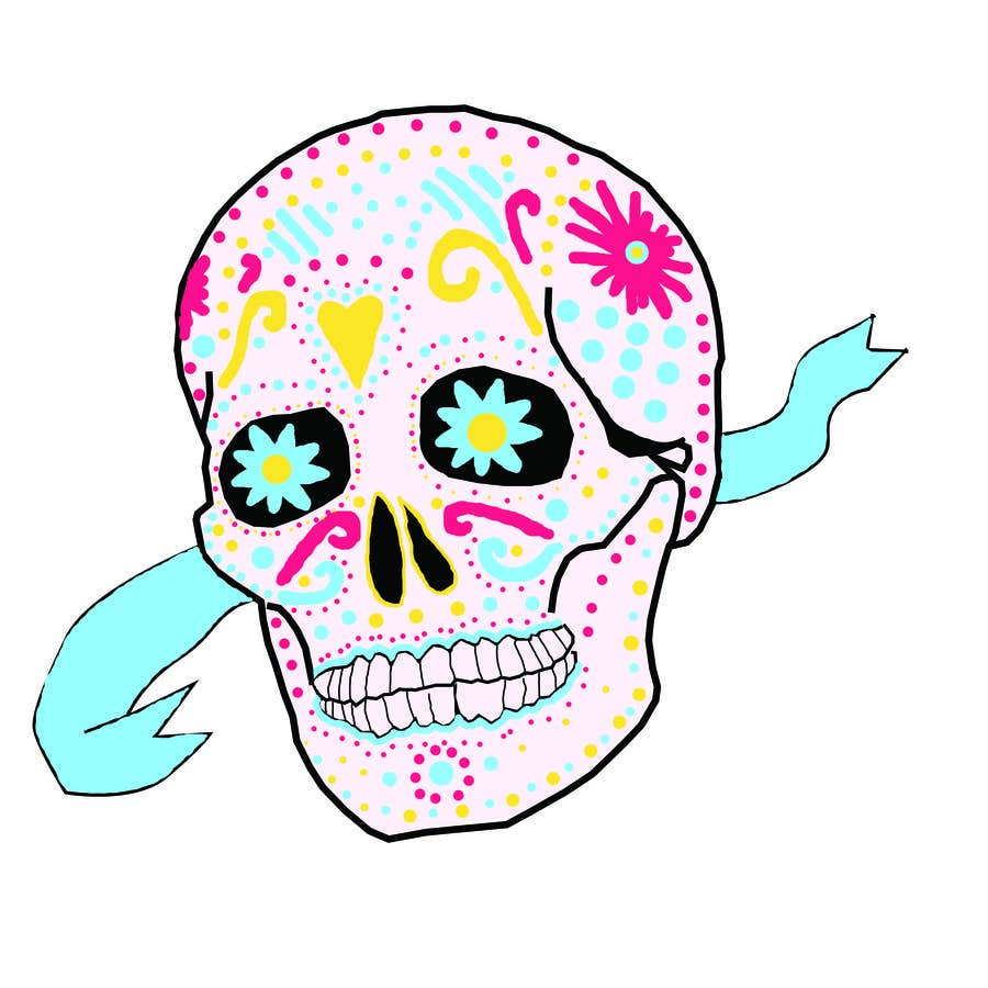#1 for Design a T-Shirt for day of the dead by Becca93