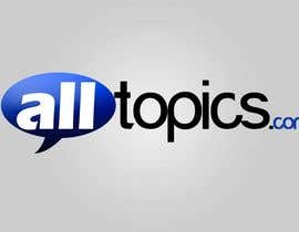 #534 for Logo Design for alltopics.com by UPSTECH135