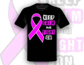#25 para Design a T-Shirt for Breast Cancer Month por Drhen
