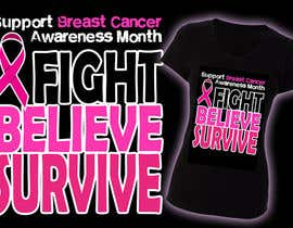#37 for Design a T-Shirt for Breast Cancer Month by Othello1