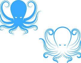 frankgdl tarafından Diseñar  logotipo de un pulpo için no 162