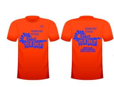 crazenators tarafından Kids Summer Camp T shirt design için no 42
