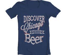 #17 para Design a T-Shirt for Chicago Beer Experience Beer Tours por ajenxris