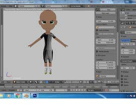#20 para 3D Character design for Mobile Soccer Game App por onneti2013