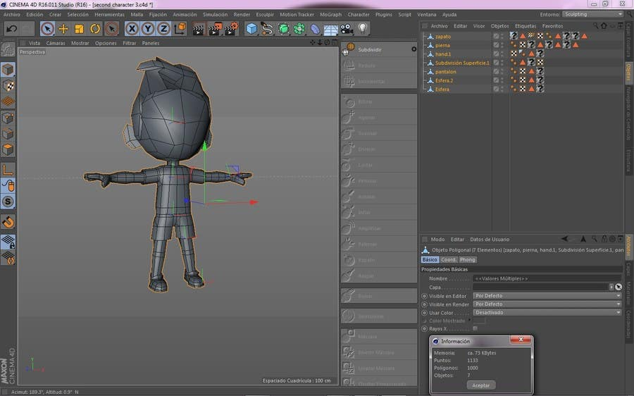 Game Character Design Apps : Entry #25 by volcanartestudio for 3d character design for mobile