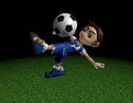 #32 para 3D Character design for Mobile Soccer Game App por ScoutingNinja3rd