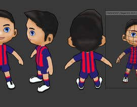 #22 para 3D Character design for Mobile Soccer Game App por bakill15