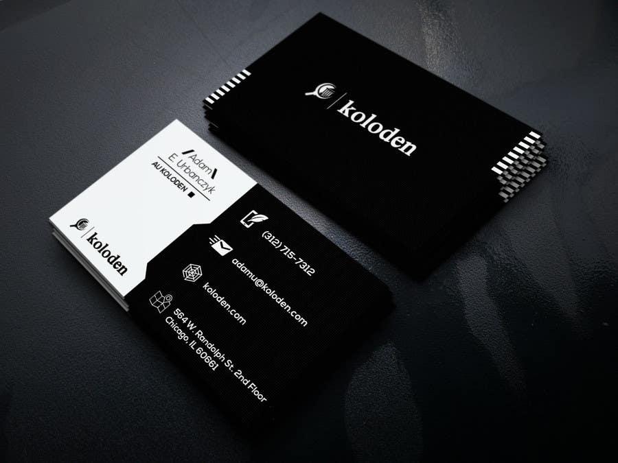 Participación en el concurso Nro.                                        114                                      para                                         Design some Business Cards