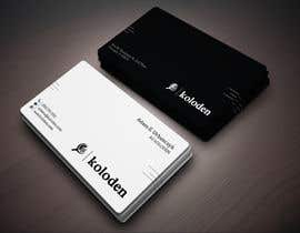 #110 para Design some Business Cards de sahadatuler