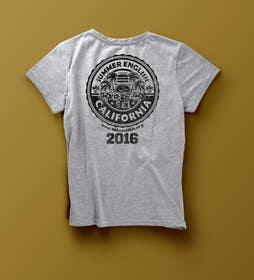 israel8542 tarafından California English Camp back of t-shirt design için no 33