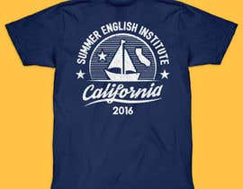 #38 para California English Camp back of t-shirt design por vickysmart