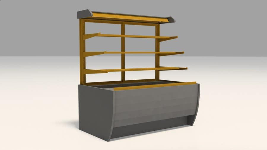Exhibition Stand 3d Model : Entry #7 by shahrukhkhan94 for do some 3d modeling for a moveable